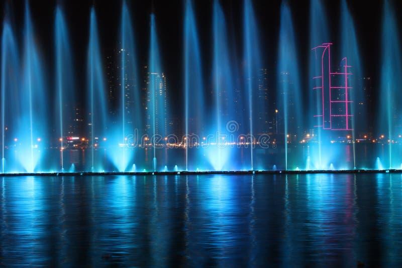 Al Majaz Waterfront fotografering för bildbyråer