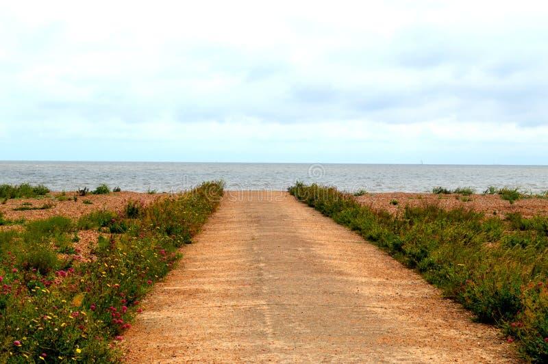 Al mar imagen de archivo