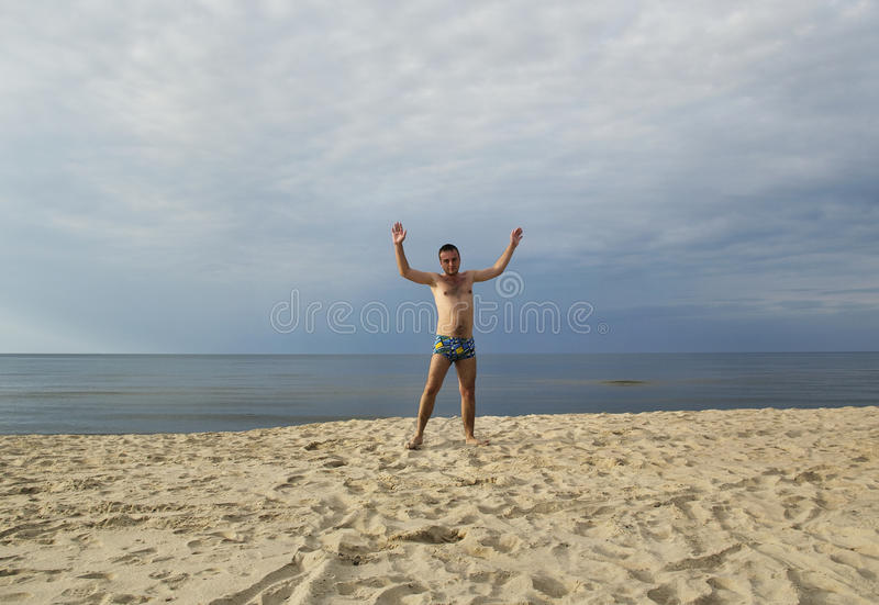 Al Mar Baltico. fotografie stock libere da diritti