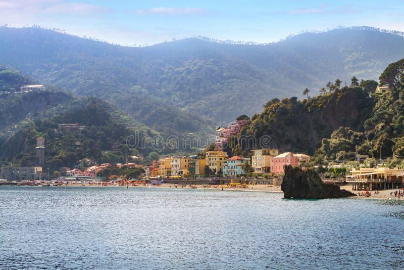 Al Mare Cinque Terre Italy de Monterosso photos libres de droits