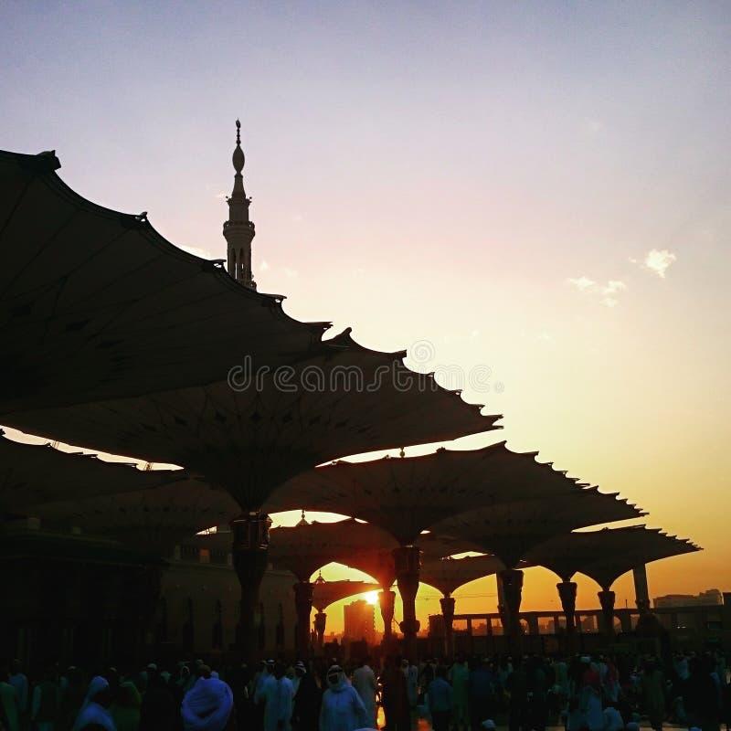 Al masjid ein nabawi lizenzfreie stockfotos