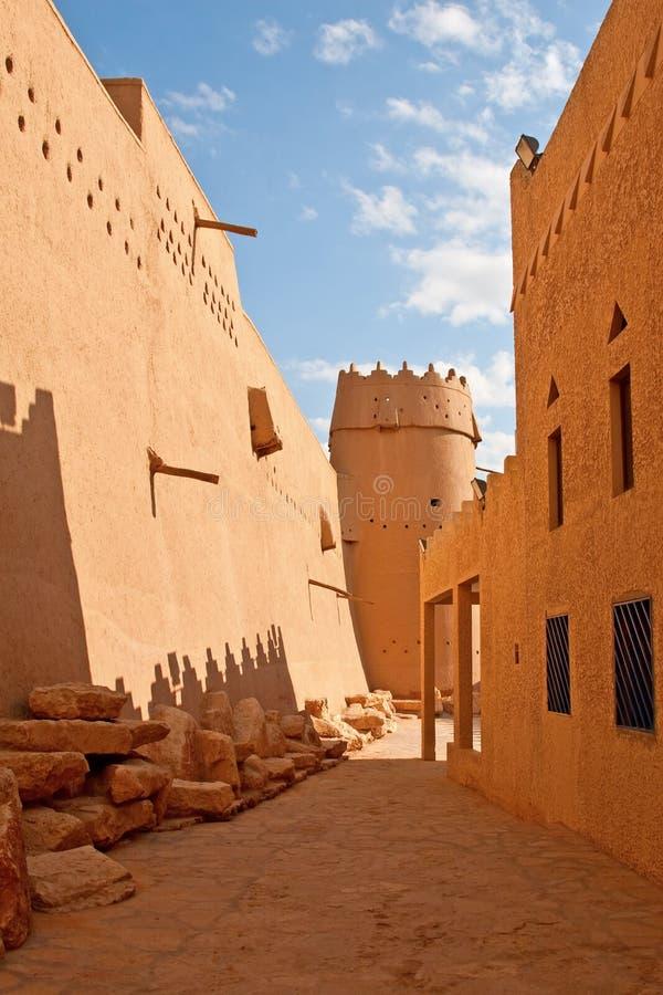 Al Masmak Fort lizenzfreie stockfotos
