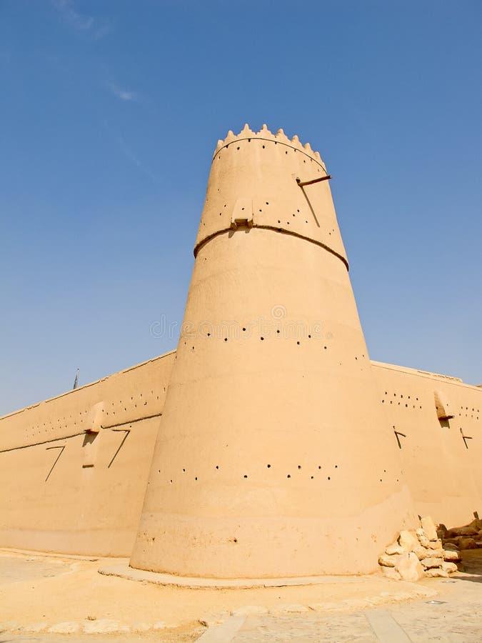 Download Al Masmak fort stock image. Image of middle, clay, landmark - 27872727