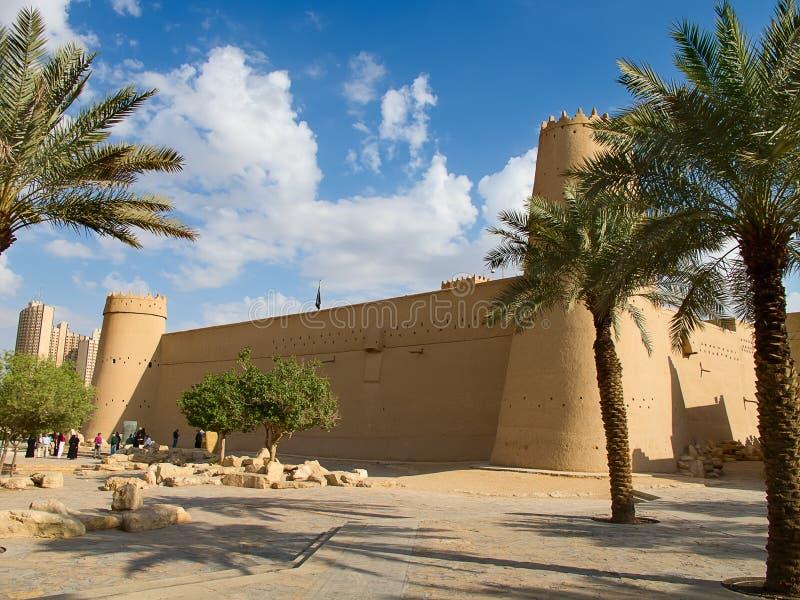 Al Masmak fort arkivfoton