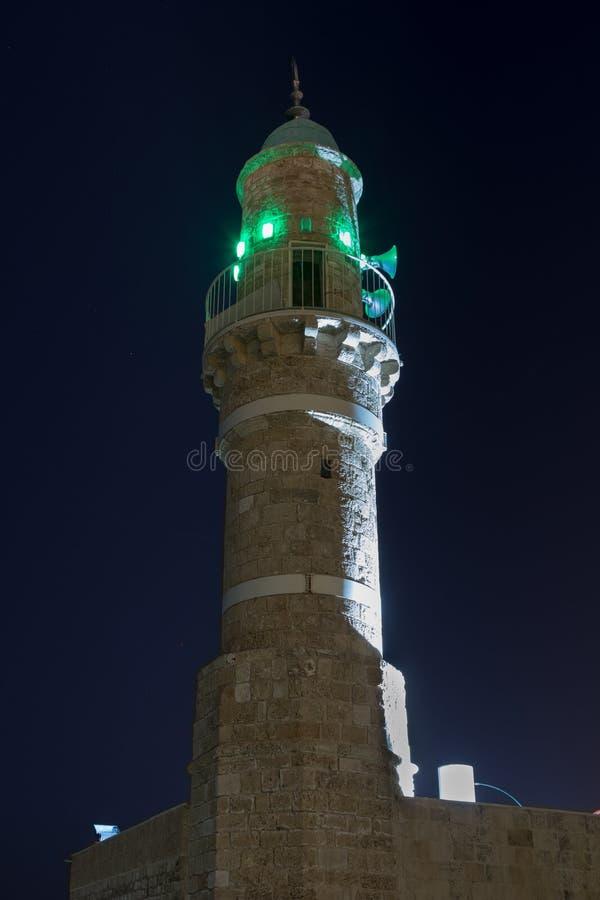 Al meczet na bulwarze w Tel Aviv-Yafo w Izrael zdjęcie royalty free