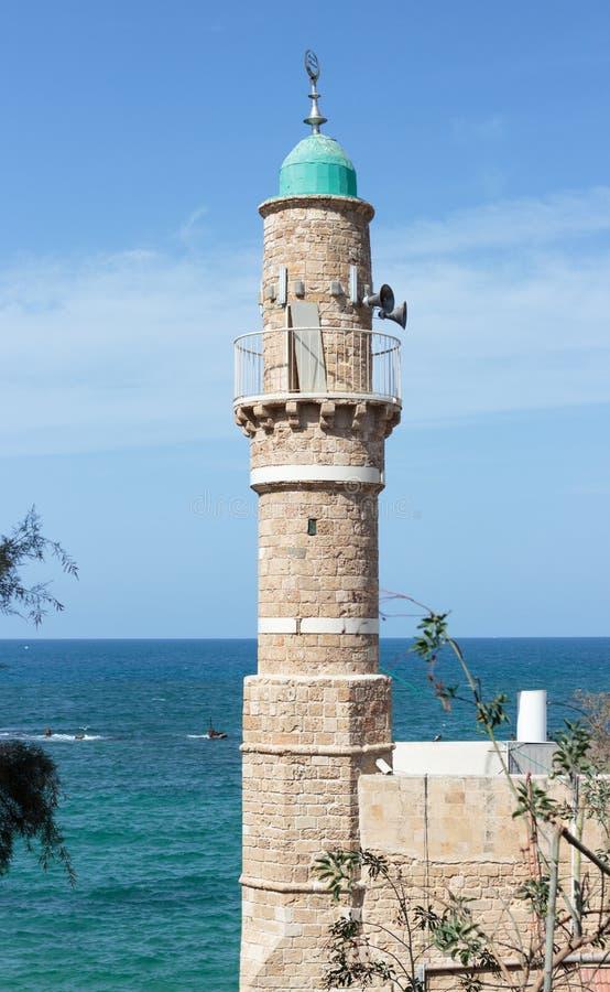 al meczet w starym mieście Izrael obrazy royalty free