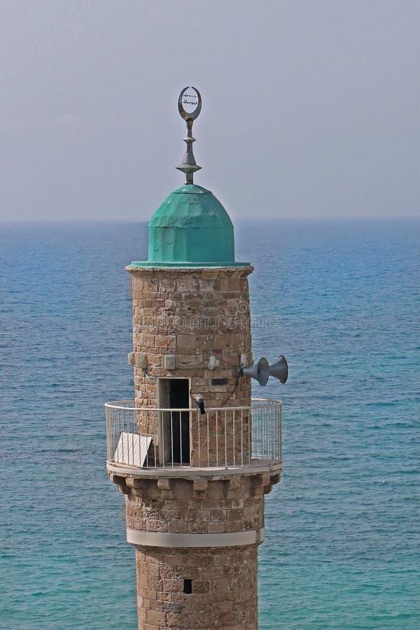 al meczet W Tel Aviv zdjęcie royalty free