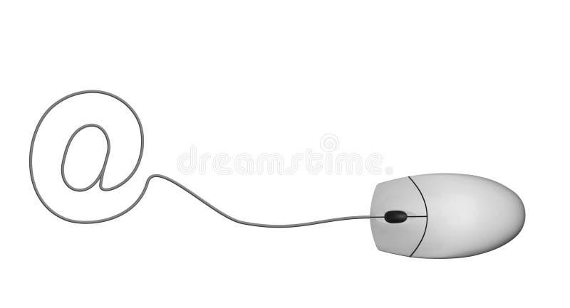 Al mouse royalty illustrazione gratis