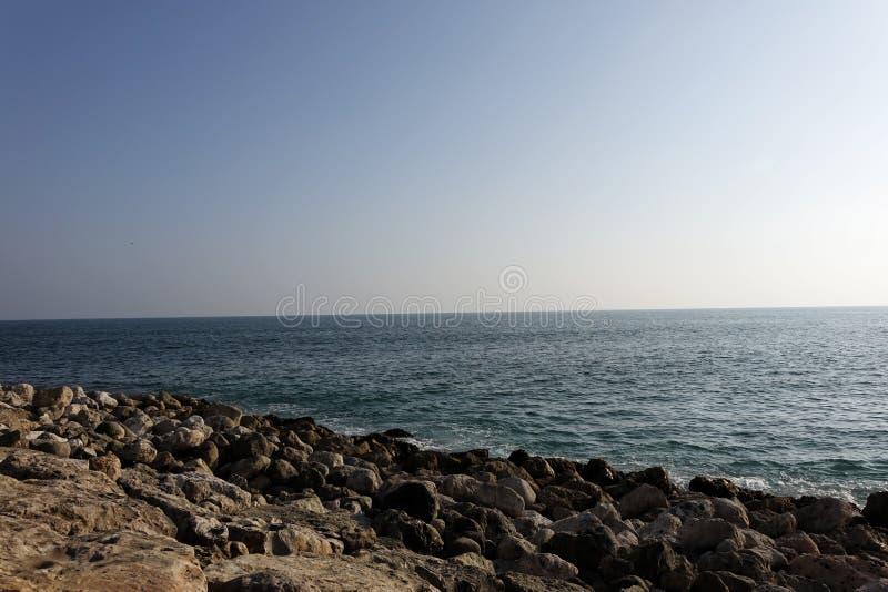 Al Mughsail Salalah, governorate de Dhofar, Sultanat d'Oman image stock