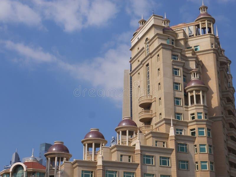 Al Murooj Rotana hotel i apartamenty w Dubaj, UAE obraz royalty free