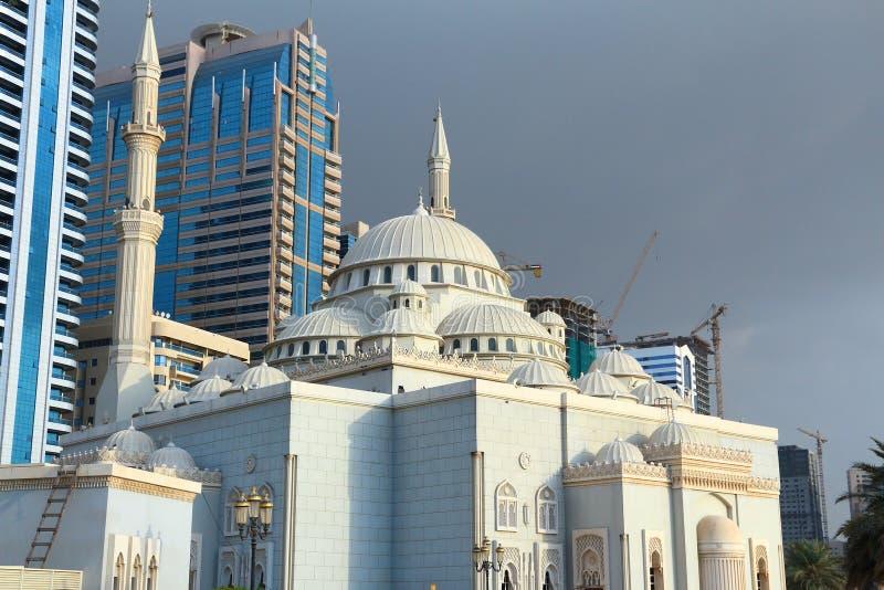 Al Noor Moschee lizenzfreies stockfoto