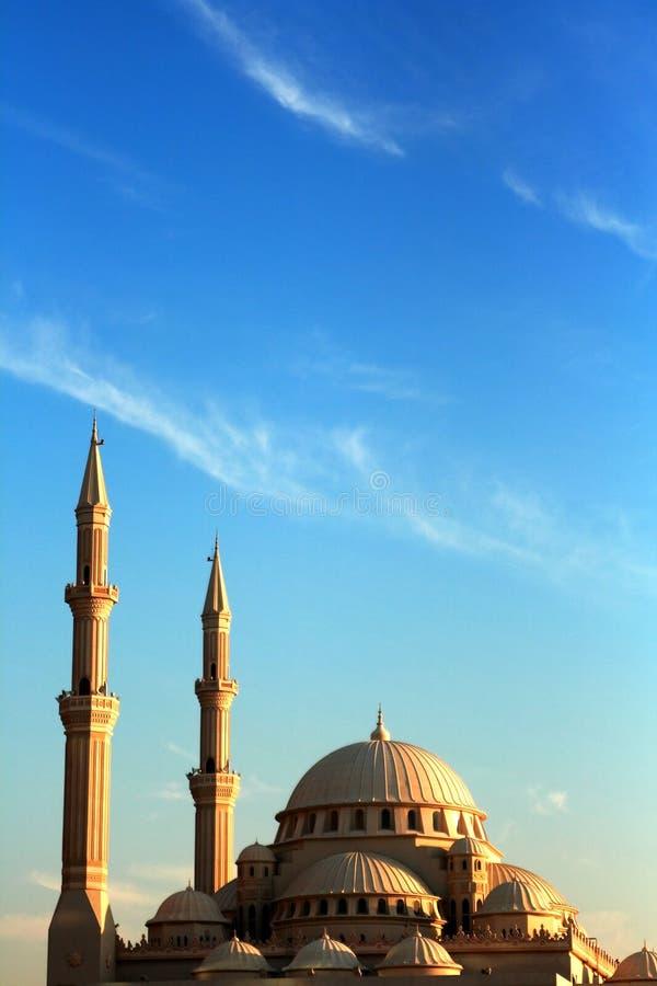 Al Noor Mosque royaltyfria foton