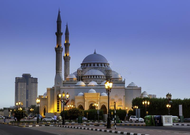 Al Noor Mosque royaltyfria bilder