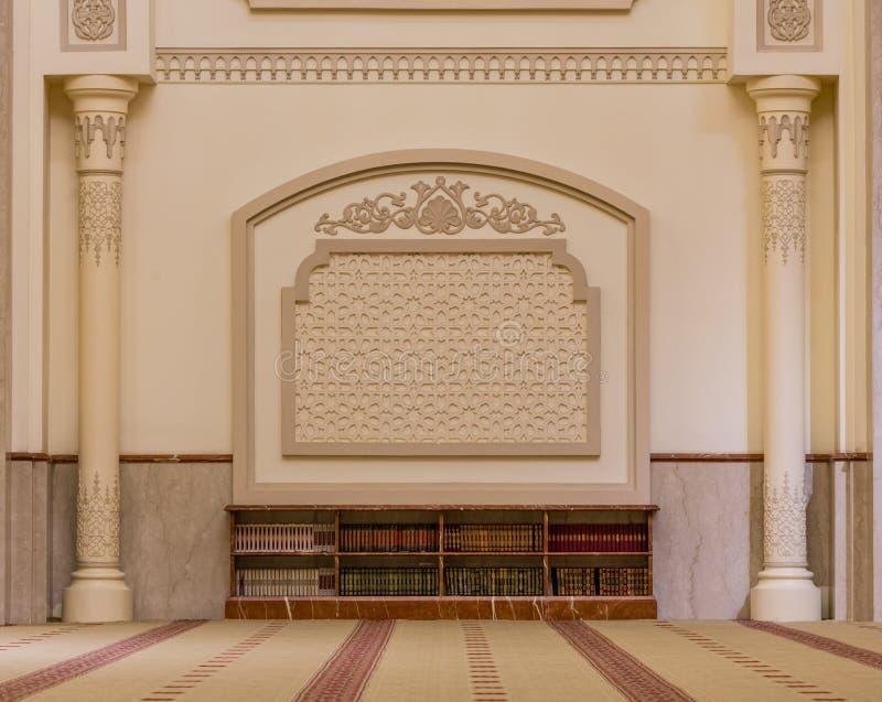 Al Noor Mosque i Sharjah, UAE arkivfoto