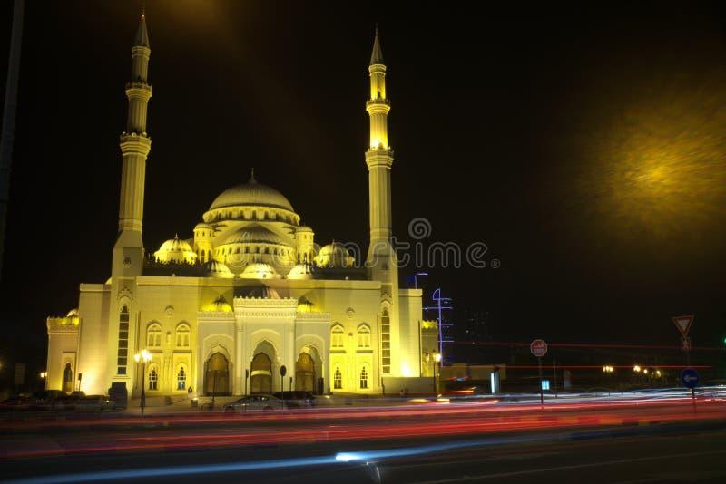 Al noormoskee Sharjah stock foto