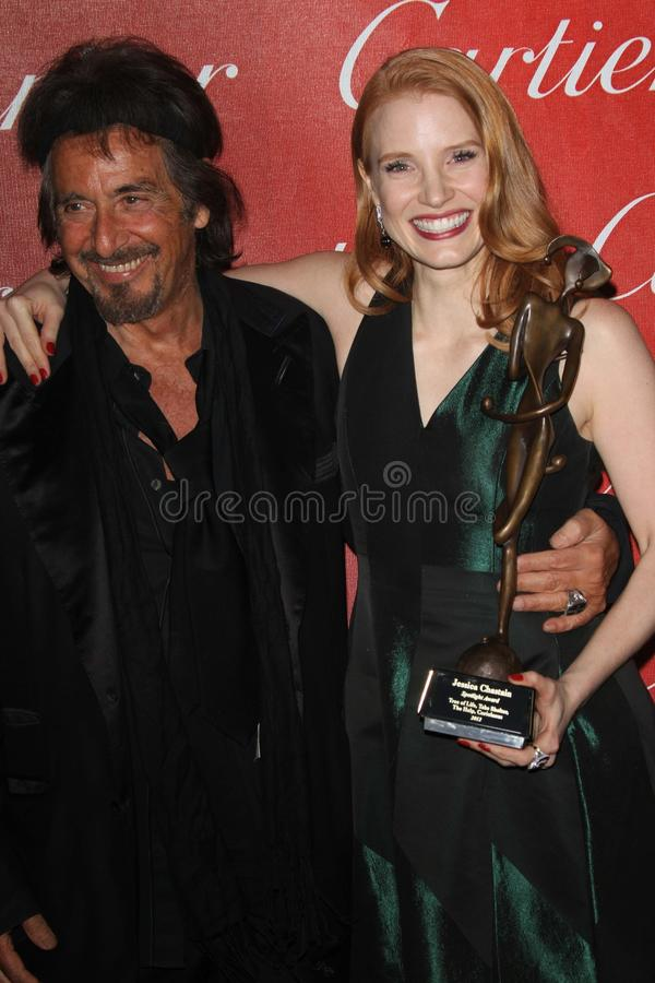 Download Al Pacino, Jessica Chastain Editorial Photography - Image: 23273237