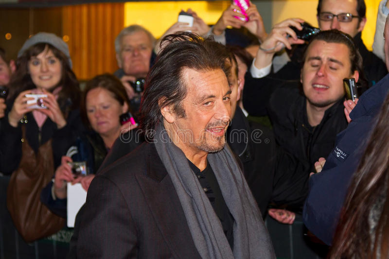 Download Al Pacino On Premiere Of His Movie In Dublin Editorial Stock Image - Image: 23472399