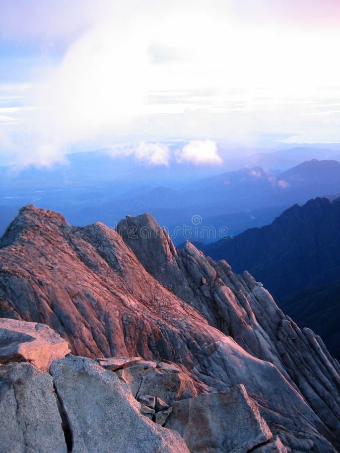 Al picco, il Borneo immagini stock libere da diritti