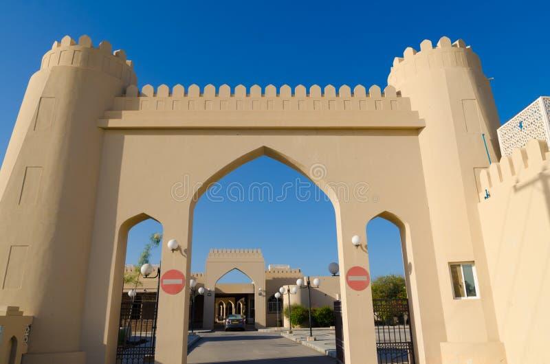 Al Qala'a souq, Sohar Oman fotografia stock libera da diritti