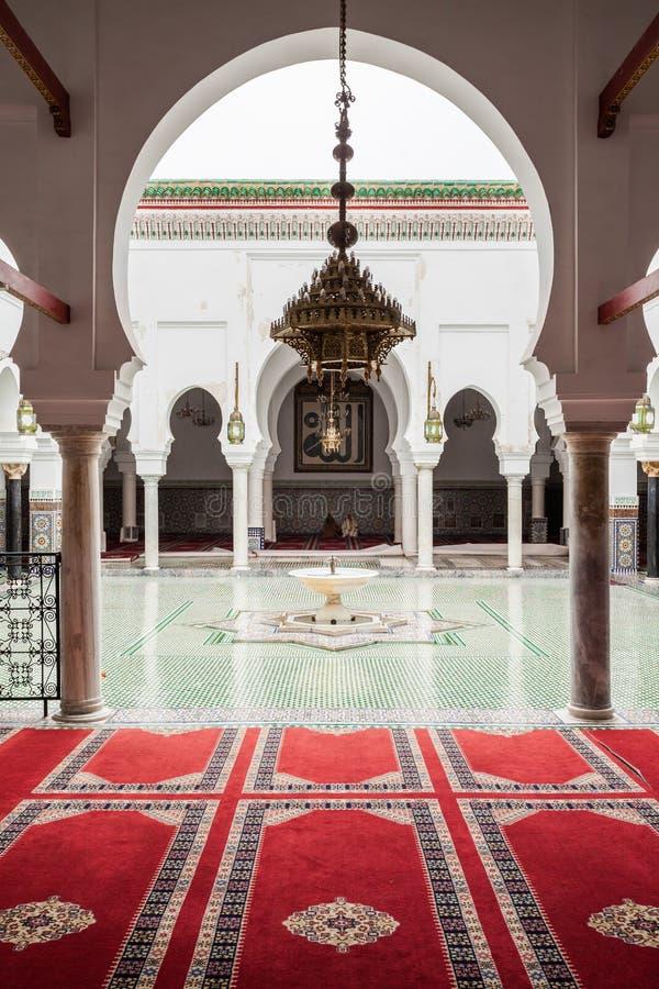 Al Quaraouiyine Mosque arkivbild