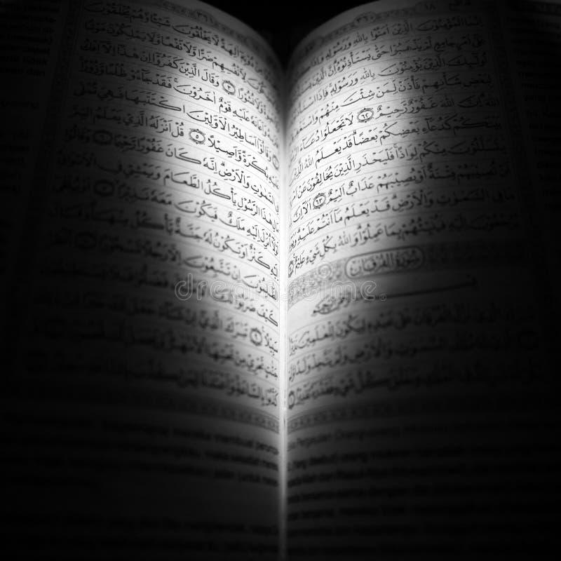 Al-Quran förälskelse fotografering för bildbyråer