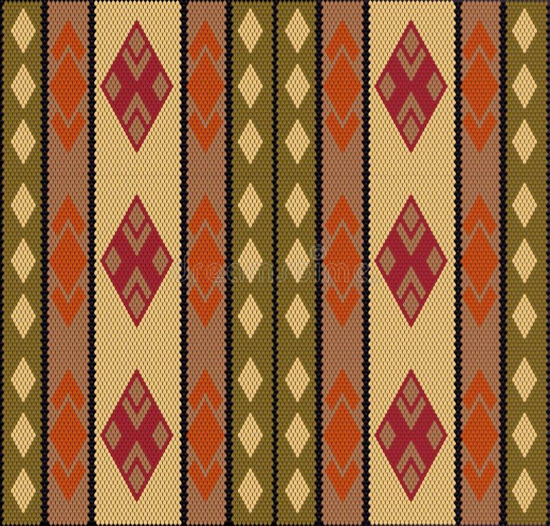 Al Sadu weaving1 иллюстрация штока