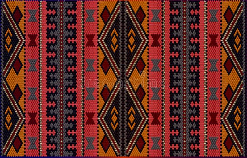 Al Sadu weaving2 иллюстрация штока