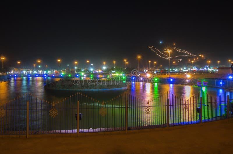 Al Samrah Park in Ha'il, Saudi-Arabië stock fotografie