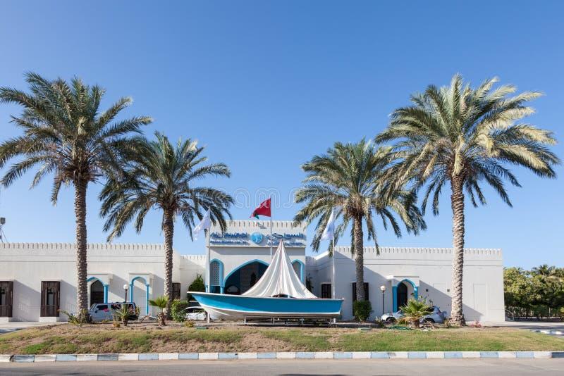 Al Sawadi Beach Hotel i Muscat, Oman royaltyfri fotografi