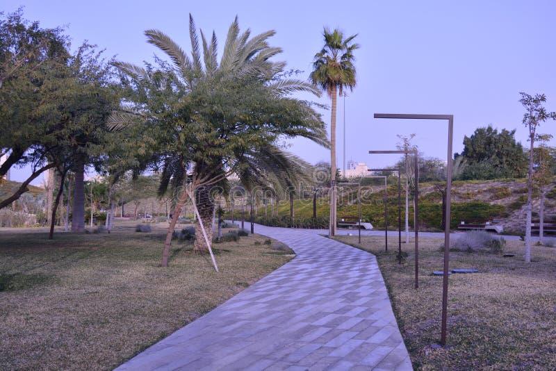 Al Shaheed Park Kuwait lizenzfreies stockbild