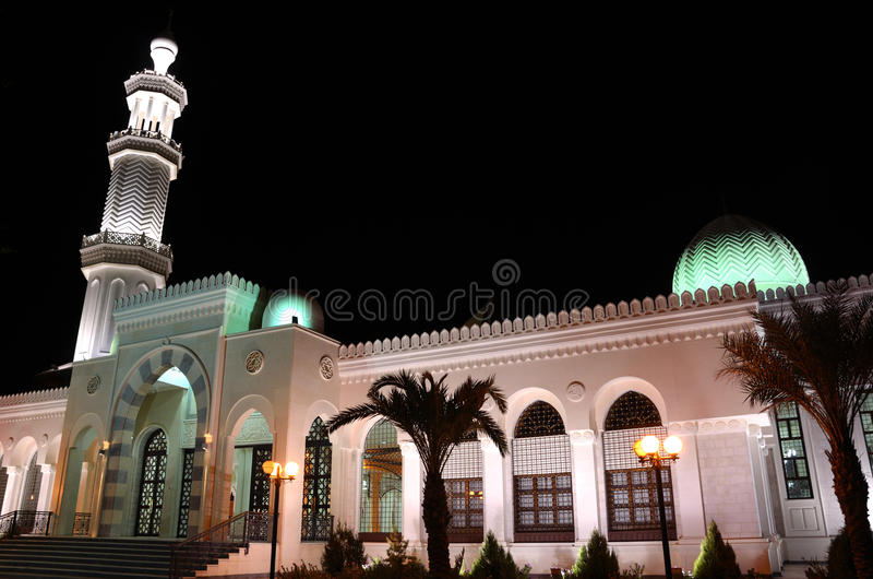 Al-Sharif Hussein bin Ali Mosque stock photo