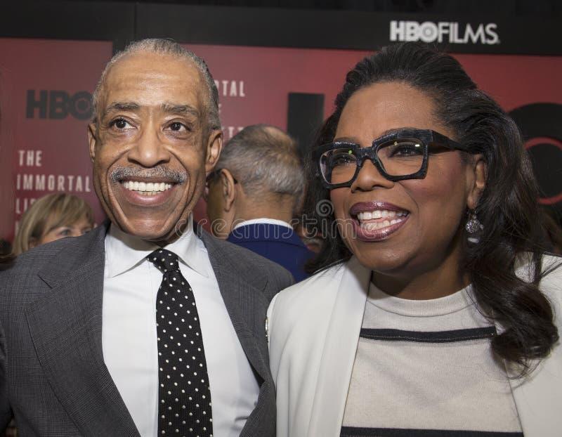 Download Al Sharpton An Oprah Winfrey Editorial Photography - Image of joins, manhattan: 90844947