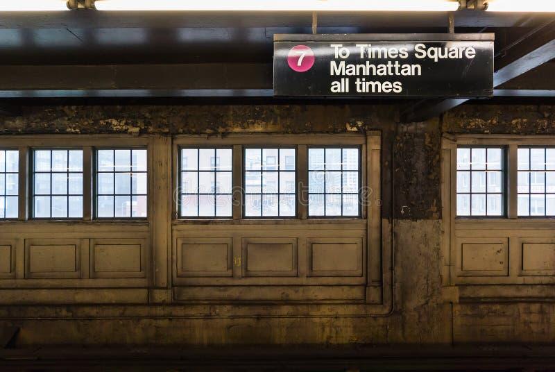 Al Times Square immagini stock