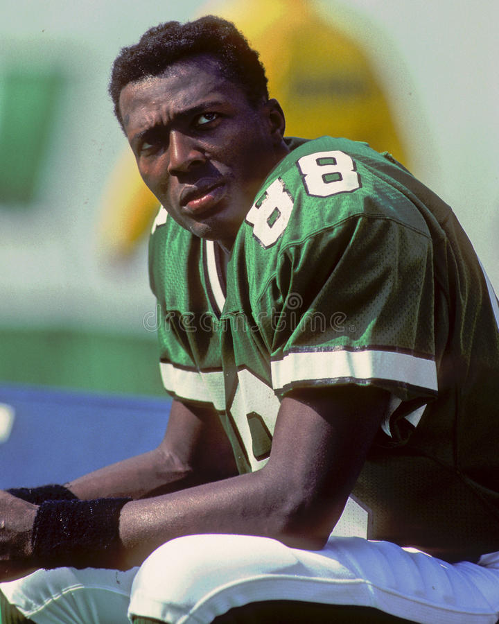 Al Toon. New York Jets WR Al Toon. (Image taken from color slide royalty free stock photos
