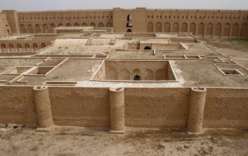 Al Ukhaidar堡垒,伊拉克 库存照片