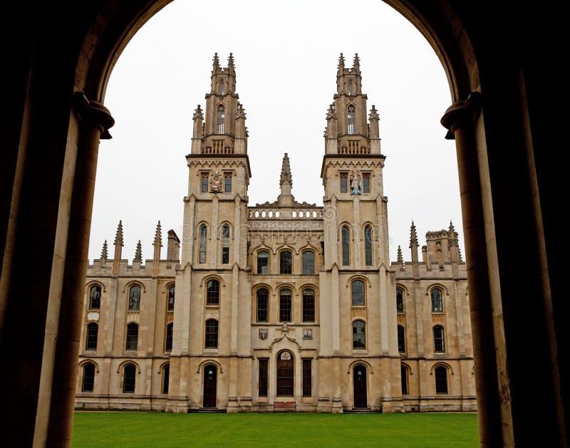 Al Universiteit 1438 van Zielen stock afbeelding