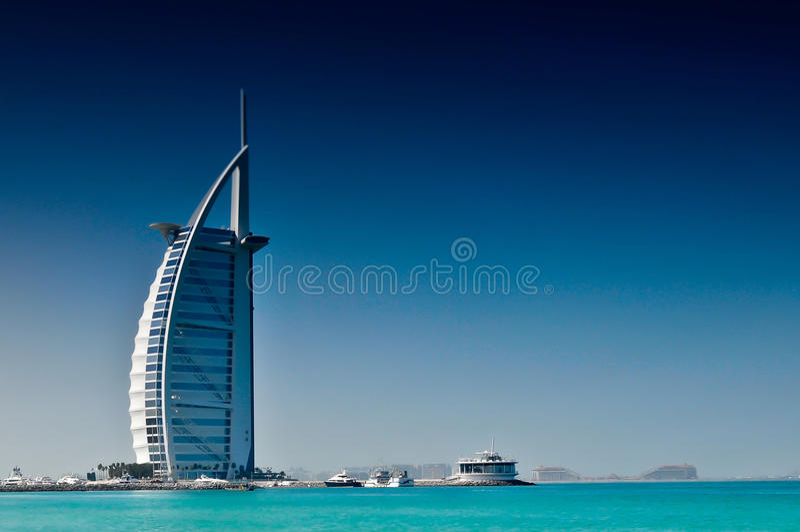 Al van Burj Arabisch Hotel Doubai royalty-vrije stock foto's