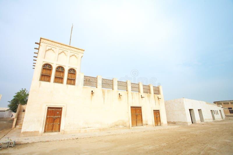 Al Wakra Huis stock afbeeldingen