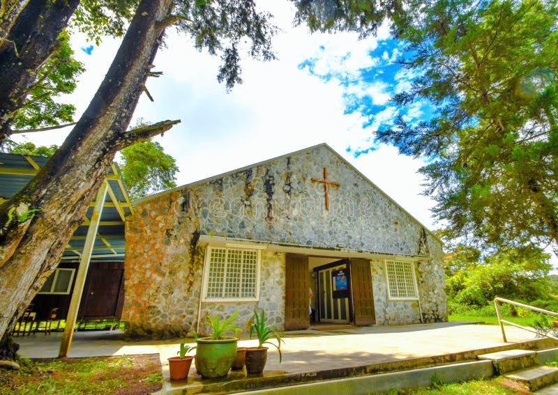 Al Zielen` Kerk, Cameron Highlands, Maleisië royalty-vrije stock afbeeldingen