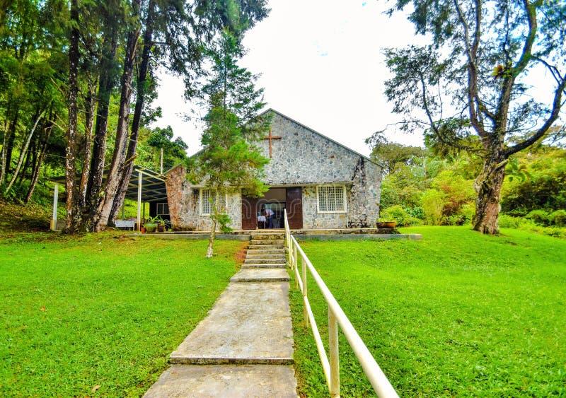 Al Zielen` Kerk, Cameron Highlands, Maleisië stock afbeeldingen
