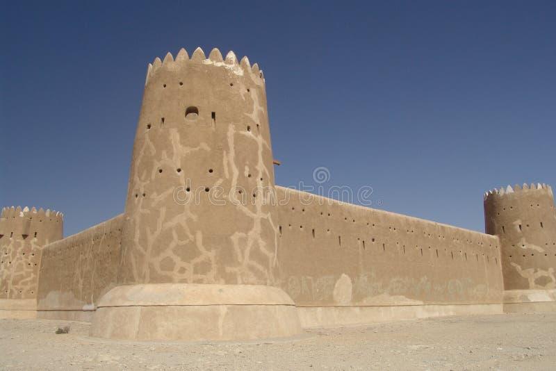 Al-Zubara Fort stock photography