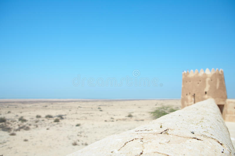 Al Zubarah de la fortaleza fotografía de archivo libre de regalías