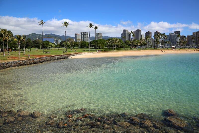 ala beach moana park fotografia royalty free