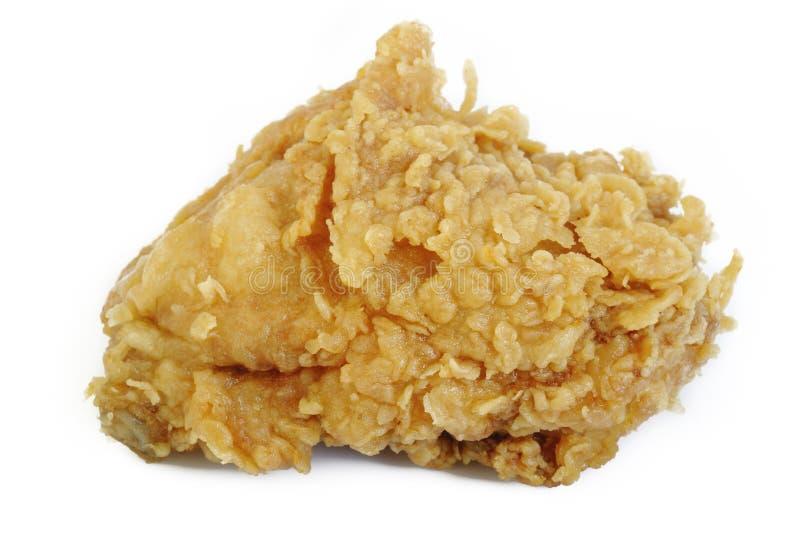 Ala di pollo fritto fotografie stock