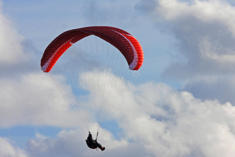 Download Ala flexible imagen de archivo. Imagen de deporte, paragliding - 41900669