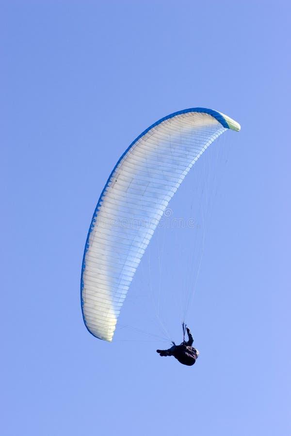 Ala flexible en cielo azul imagen de archivo libre de regalías