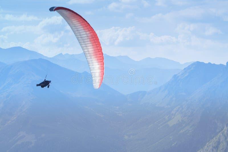 Ala flexible, Eslovaquia, montañas de Tatra, Dolina Cicha Liptowska Va fotografía de archivo libre de regalías