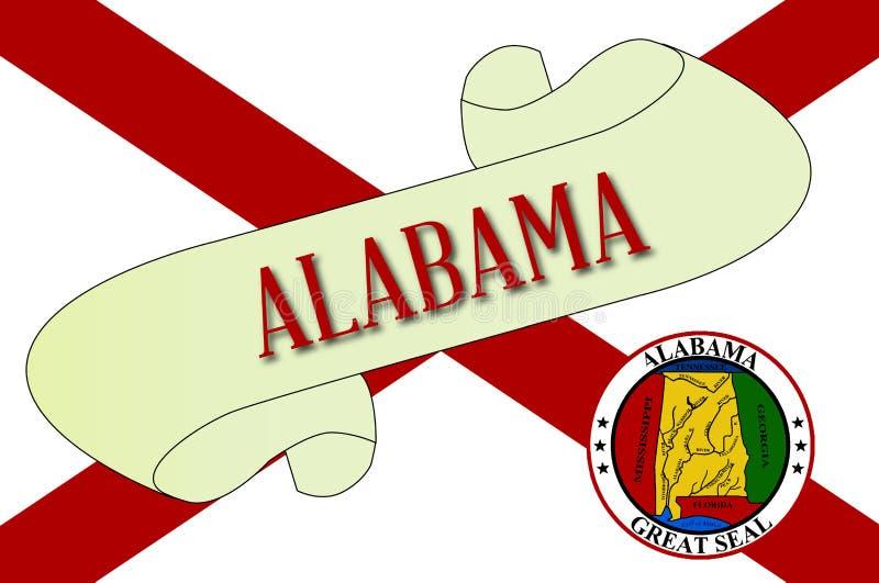 Alabama ślimacznica ilustracji