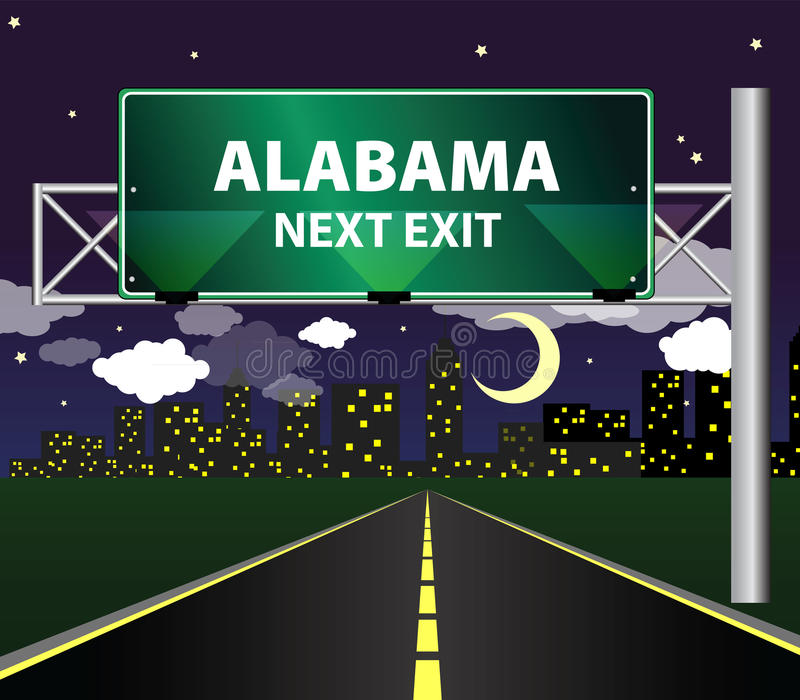 Alabama libre illustration