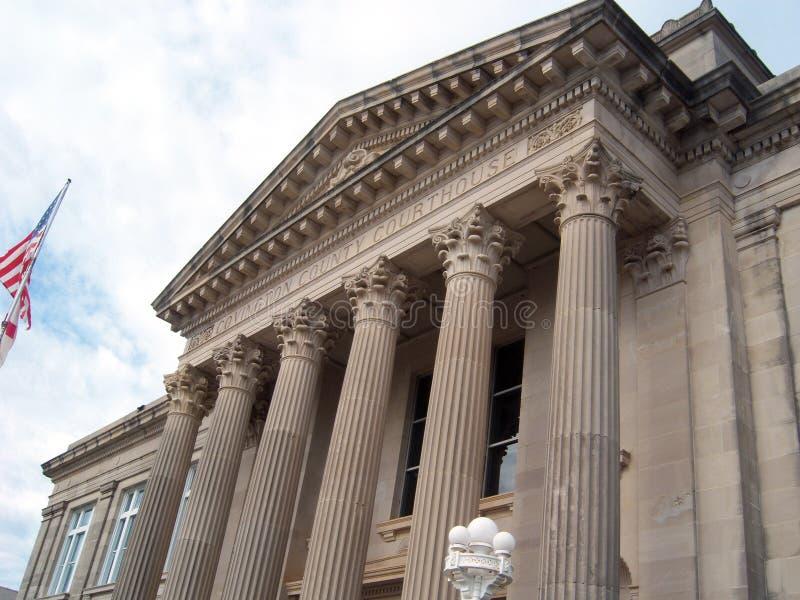Alabama domstolsbyggnad fotografering för bildbyråer
